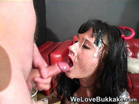 best of Chick face on Goth cum