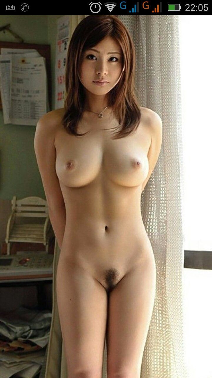 Japanese girl naked alone
