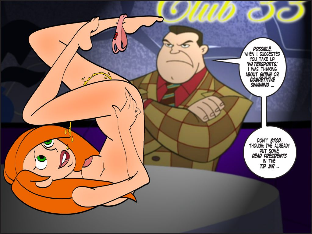 Kim possible peeing . Quality porn.