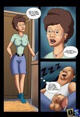 Big tits interracial cartoons