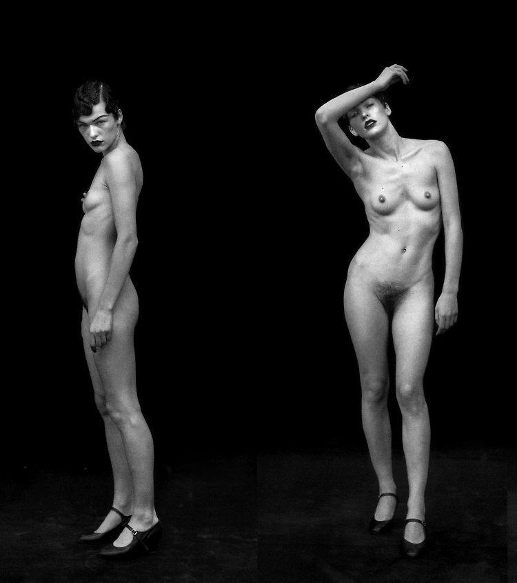 Mila jokovich nude