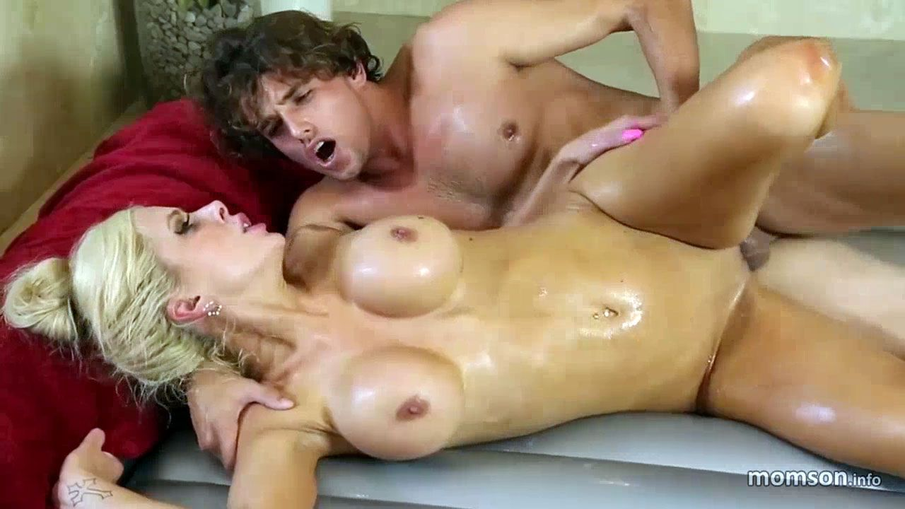 Hot moms and son naked think