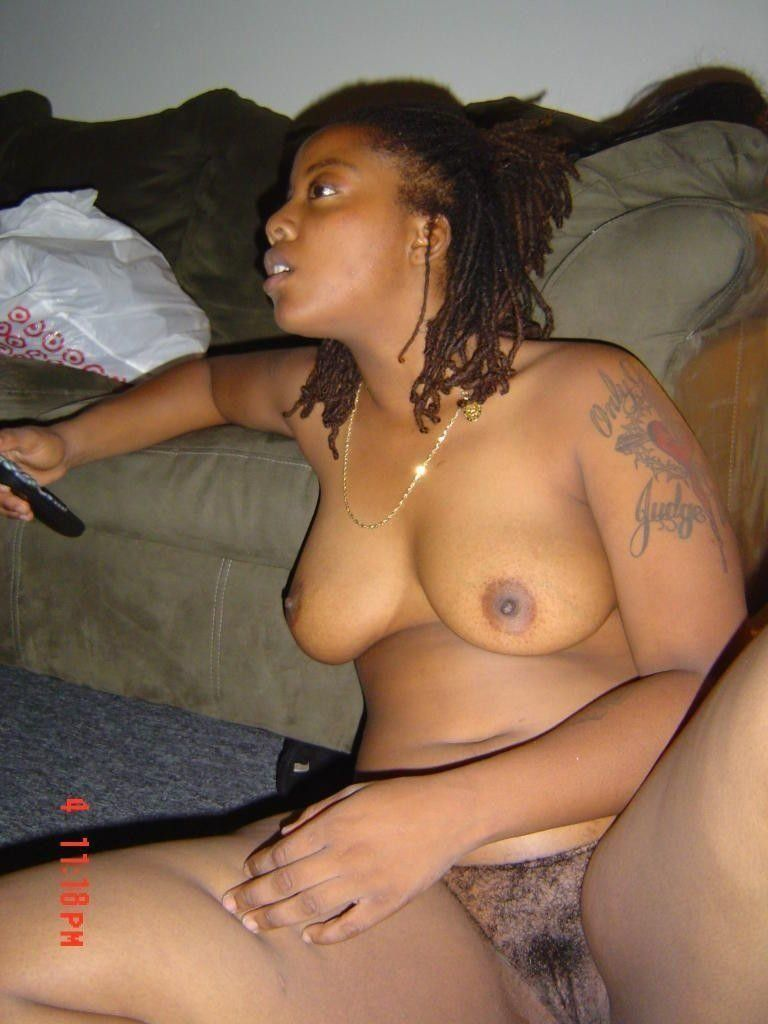 Naked wife in club