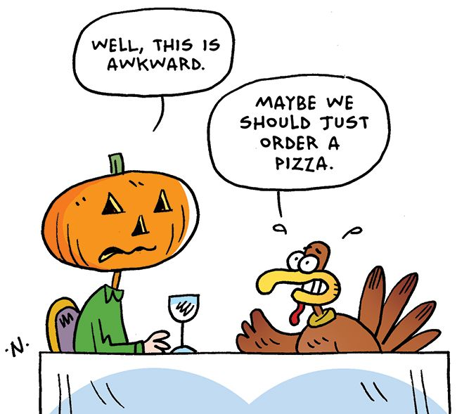 Thanksgiving jokes and sayings