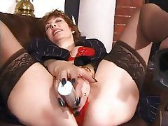 MELBA: Dildo masterbating video