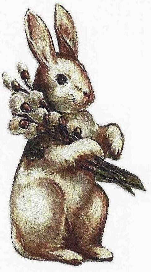 best of Art clip Vintage bunny easter